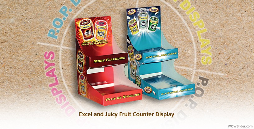 Excel & Juicy Fruit